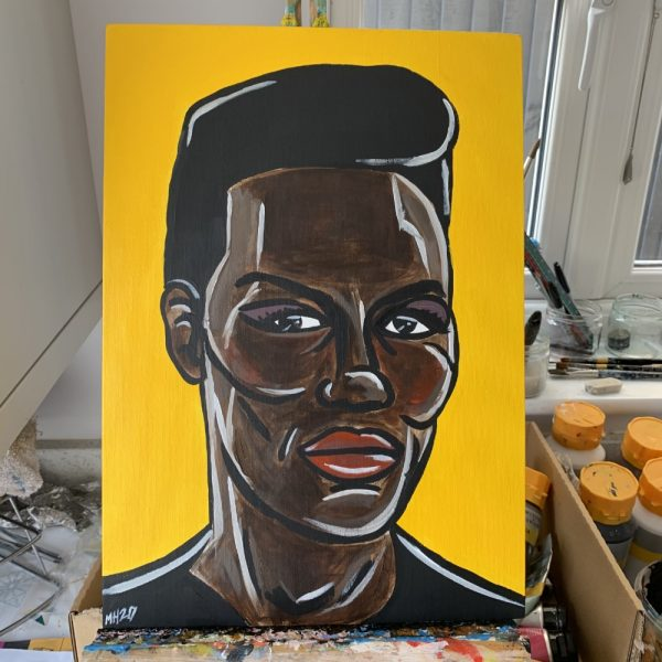 Grace Jones Painting
